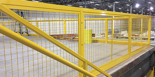 Mezzanine Guarding Panels