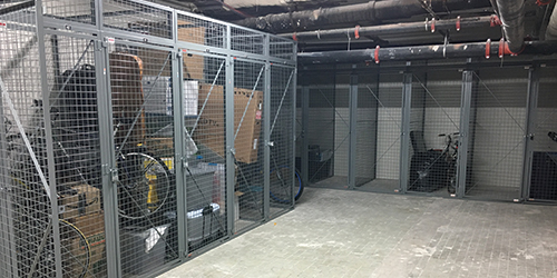 Residential Storage Lockers