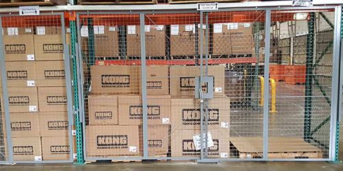 Pallet Rack Safety Guarding